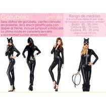 Disfraz Mujer Gatúbela Batman Fiesta Halloween Sexy Edecanes