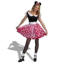 Disney Minnie Mouse Del Traje De Lujo De La Mujer Disfraz