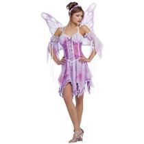 Hada Disfraz - Púrpura Medio Mariposa Para Mujer
