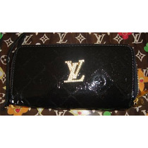Cartera Lv Louis Vuitton Monograms Vernis Con Swaroskys