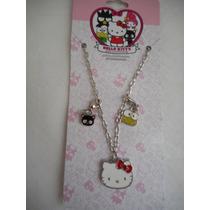 Collar Dijes Hello Kitty Sanrio 40 Aniversario!
