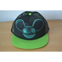 Gorra Deadmau5 Sublimada Trucker Retro Malla