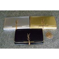 Bolsa Clutch Ysl Yves Saint Laurent 3 Colores A Elegir
