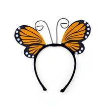Disfraz De Mariposa - Alas Amarillo Y Diadema Del Vestido De