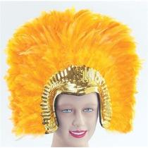 Burlesque Disfraz - Sexy Deluxe Oro Pluma Tocado