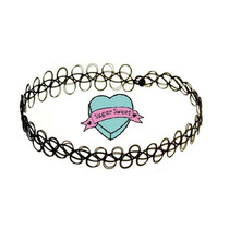 Tattoo Choker (gargantilla) Multicolor.