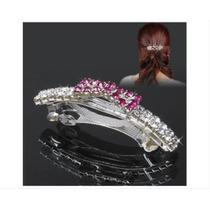 Clip Brillante Decorado Con Diamantes De Imitación