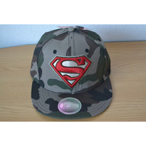 Gorra Logo Superman Camuflageada Snapback Original
