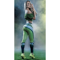 Leggins Mayon Nfl Lycra Modelos Green Bay Packers Equipos