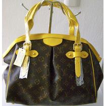 Bolsa Lv Louis Vuitton Tivoli Monograms Filos Venis Amarillo