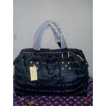 Bolsa Lv Louis Vuitton Monograms Negra