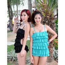 Halter Bikini Monokini En Capas Moda Japonesa Vbf
