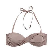 H&m Bikini Top Bandeau Halter/ Strapless Lila Claro