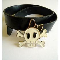 Cinturon Shasa Calaverita, Pastel Goth, Dark, Gotico