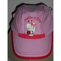 Hermosa Gorra Hello Kitty Rosa Para Niña! Oferta