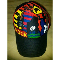 Gorra Rock Slash Guitarra Electrica Personalizada Mano
