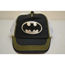 Gorra Logo Batman Trucker Para Dama Snapback Original