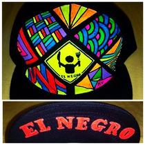 Gorras Completamente Personalizadas Pintura Neon Hipster