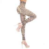 Elegance Leggings Animal Print Flores Abdomen Plano Maa