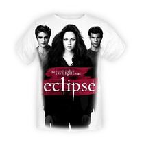 Twilight Eclipse Edward Bella And Jacob T-shirt Playera
