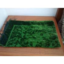 Pañuelo Artesanal Terciopelo Verde
