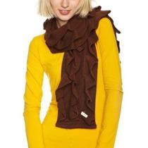 Bufanda Echo Diseño De La Mujer Escultural Ruffles Bufanda