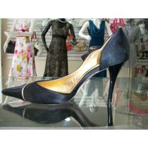 Zapatillas Importadas Negras C/dorado De Razo 2.5-3 Mex