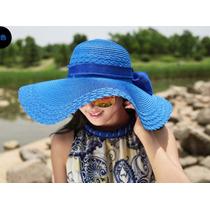 Sombrero De Playa Para Mujer Con Fps 25+ Envío Gratis