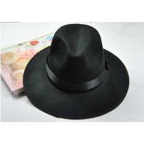 Sombrero Ala Ancha Vintage Hipster Funky Excelente Calidad
