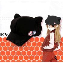 Eva Evangelion Asuka Langley Anime Sombrero Orejas Gato