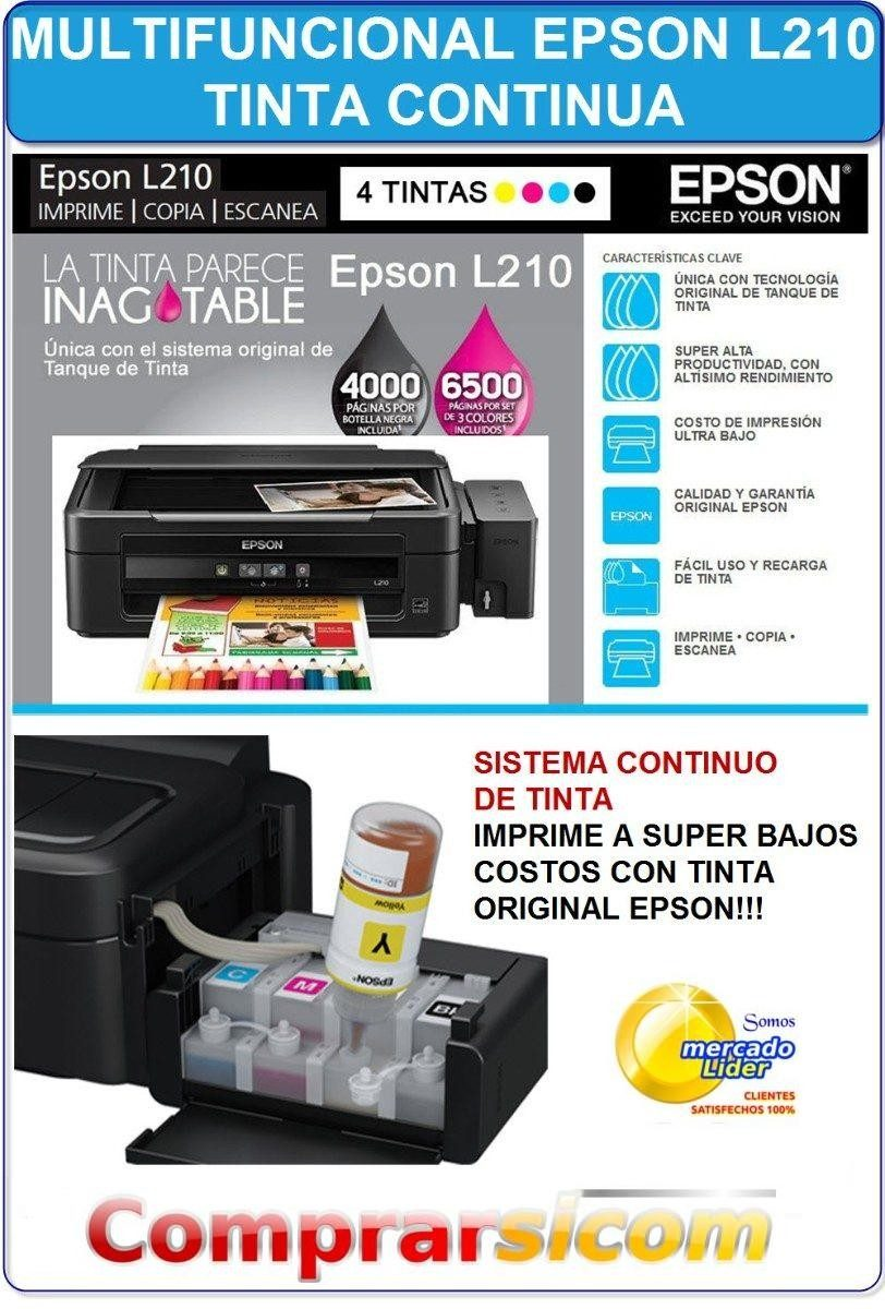 Driver Para Escaner Epson L210 Printer