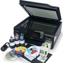 Multifuncional Brother J870 Impresión Discos Sistema Tinta