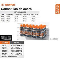 Canastilla De Alambre De 80x21x12.3