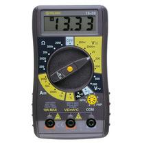 Multímetro Digital Junior Con Temperatura Promo Envio Gratis