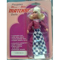 Matchbox Lesney - Muñeca Mod Millie De 1973 En Blister