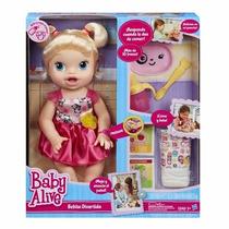 Juguete Muñeca Baby Alive Bebita Divertida Hace Del Baño