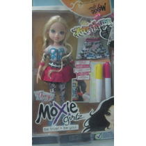 Moxie Girl Muñeca Avery Art Dale Color A Tu Ropa Pm0