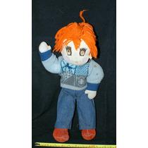 Muñeco De Tela Y Estambre (muñeco De Trapo) 45 Cms
