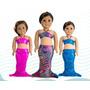 Cola De Sirena Con Top Para Muñeca Mermaids123