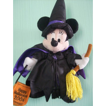 Minnie Mouse Halloween Brujita Disneyland Resort 2004 Colecc