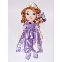 Preciosa Muñeca Princesa Sofia 50 Cm Excelente Calidad
