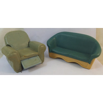 Fisher-price Loving Family Muñecos Muebles Vintage Ampa101