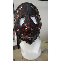 Máscara Slipknot Cuero Sintético Metal Varios Diseños Bozal