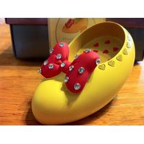 Disney Character Cobbler Zapatilla Miniatura Minnie Mouse