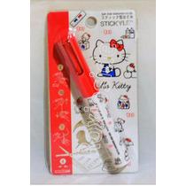 Kit Hello Kitty Pluma,tijeras Y Post It Original De Japon
