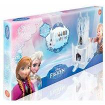 Palacio De Hielo Frozen Con Personajes Y Accesorios