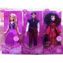 Princesa Rapunzel, Su Principe Flynn Y Mother Gothel Disney