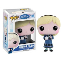 Disney Frozen Ana Y Elsa Young Funcko Pop! Vinil Figure