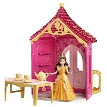 Disney Princesa Poco Unido Magiclip Belle Habitación Playset