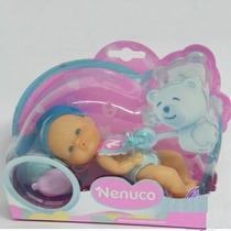Mini Nenuco Cuidados Básicos Azul